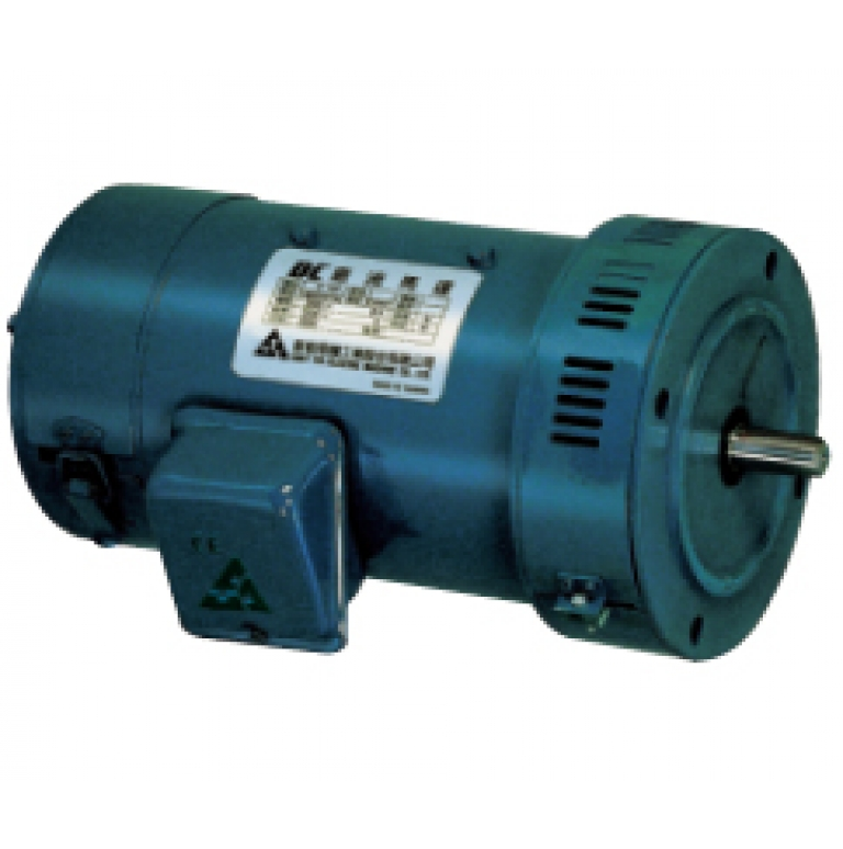DC motor exterior Figure and specifications table
